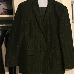 Versace collection black designer blazer